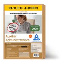 Paquete Ahorro Auxiliar Administrativo Estado